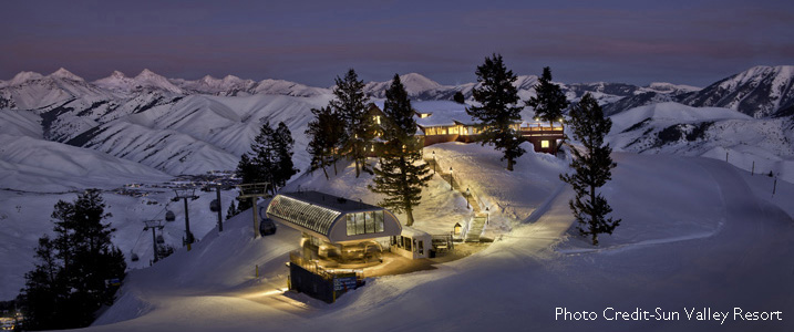 2017 North America Top 10 Ski Resorts | Escape2ski | Sun Valley Resort, Idaho | Best Ski Resorts in the United States | Ski Idaho | Idaho Ski Areas