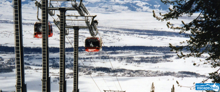 2017 North America Top 10 Ski Resorts | Escape2ski | Jackson Hole Mountain Resort, Wyoming | Best Ski Resorts in the United States | Ski Wyoming