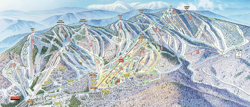 Sunday River Ski Resort Trail Map | Sunday River Ski Resort | Escape2ski | Newry, Maine | Ski Maine | Maine Tourism | US Ski Areas Association | Skiing Trail Maps